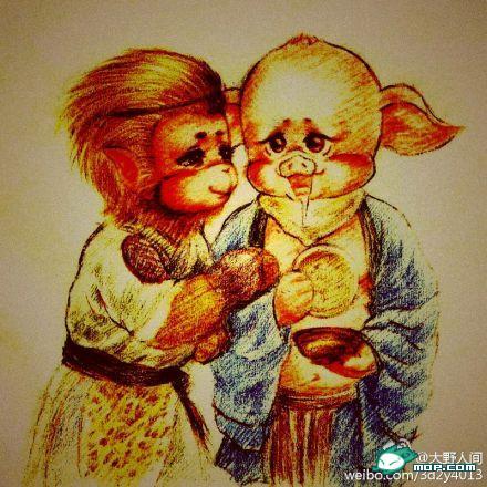 """""""最萌西游记""""走红 唐僧师徒妖魔均是大眼睛【2】"""
