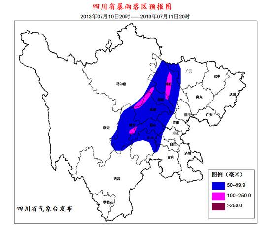 川西旅游景点分布图