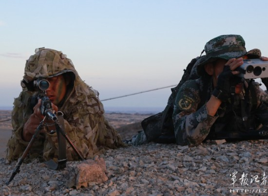 解放军特种部队狙击手-印媒哀叹和解放军差距太大 曝光中国秘密武器