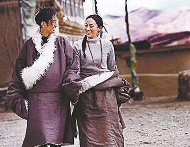 藏族80后新人的结婚照走红微信朋友圈