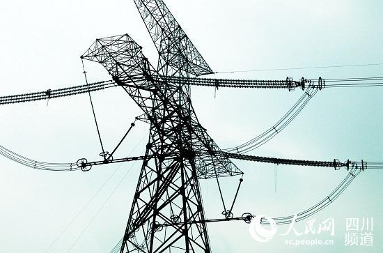 起源於四川的三条特高压直流输电线路(复奉直流