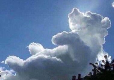 立体云朵折纸步骤图解