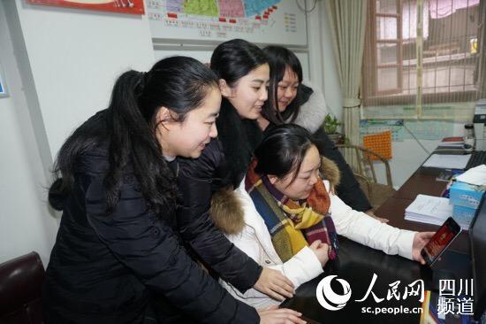 泸州龙马潭区:创新模式 节前发送微信H5拜廉