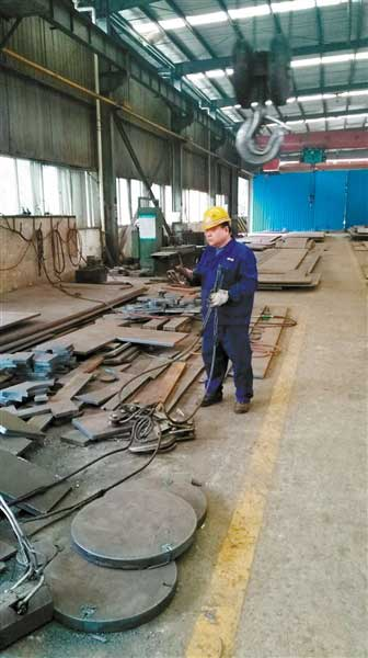 钢结构厂房铆工图纸