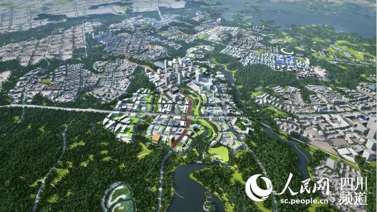 成都天府国际空港新城规划图.-成都高新东区公开招聘559名乡镇工作