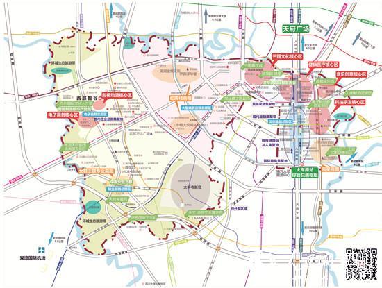 成都市武侯区发布产业发展地图 看三大主导产业如何分布