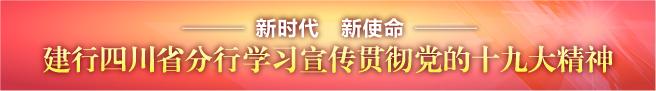 建设银行四川省分行学习宣传贯彻党的十九大精神