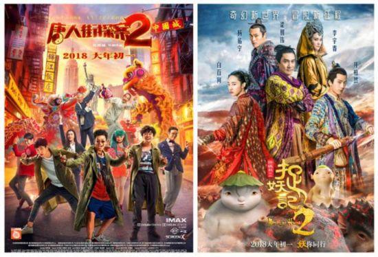 """春节档54亿电影票房背后的""""龙虎斗"""""""