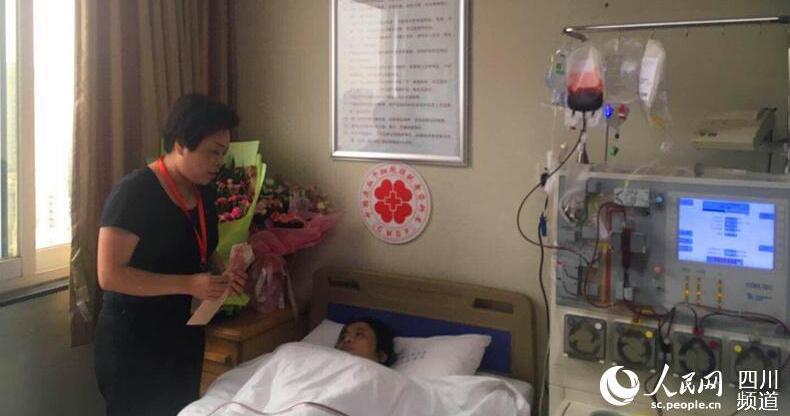 旺苍女子捐献造血干细胞救助浙江5岁男孩