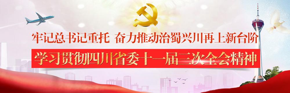 学习贯彻四川省委十一届三次全会精神