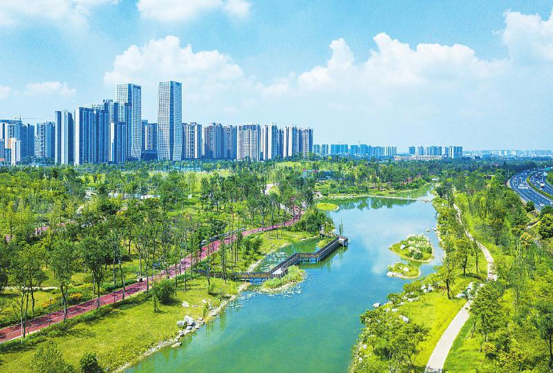 成都桂溪生态公园全新亮相