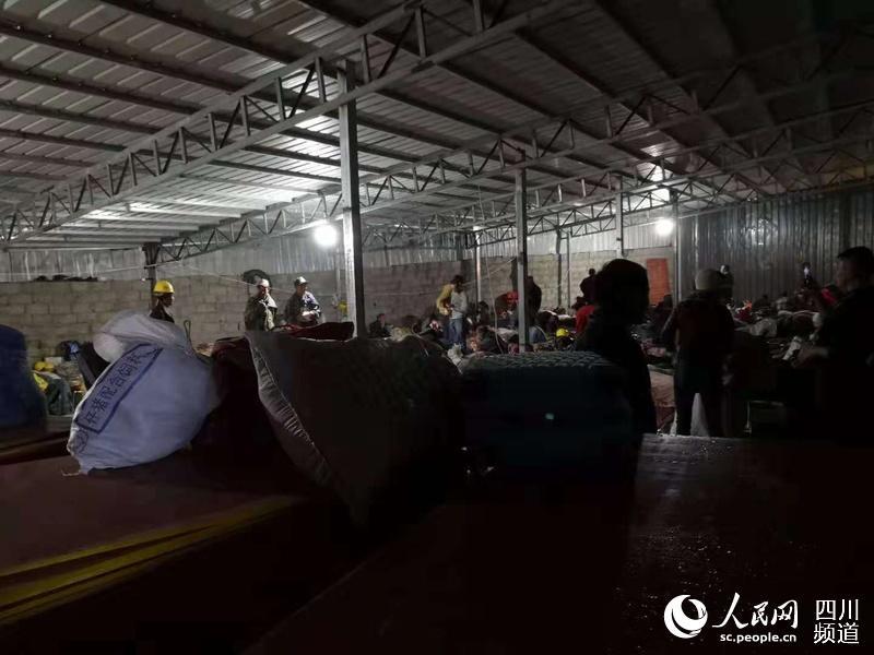 涉险人员已全部撤离至安全地带。(图片由甘孜州政府新闻办提供)