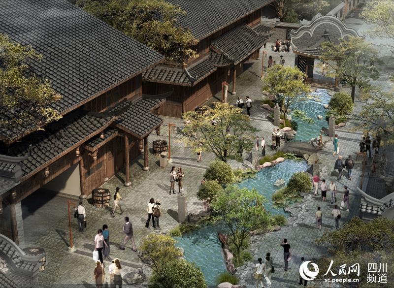 华侨城投资11亿元的黄龙溪古镇有了新进展