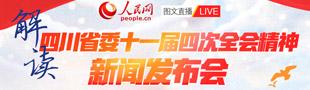 解读四川省委十一届四次全会精神新闻发布会