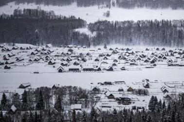 新疆禾木:尽享雪趣