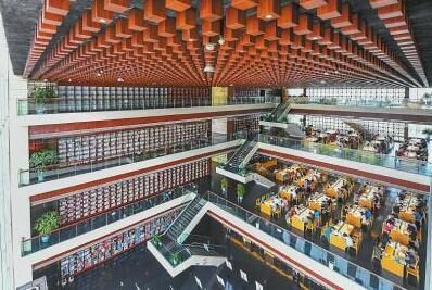 四川省图书馆:城市中心的文化会客厅