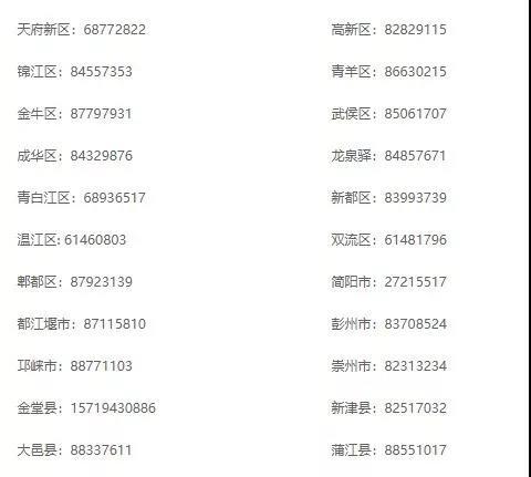 2019年幼儿园招生工作安排,附成都各区(市)县咨询电话