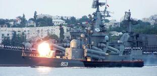 俄军黑海演习