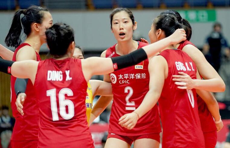 中国女排六连胜