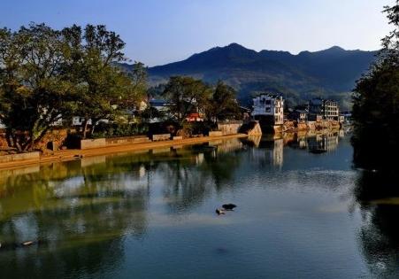 武夷山下古村落——下梅村