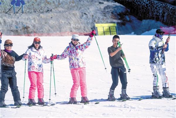 真香!近在咫尺的南方滑雪��