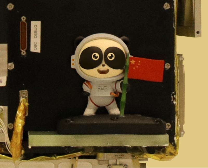 """星辉平台注册:""""航天+大熊猫""""跨界合作 """"太空熊猫""""首飞太空(图3)"""