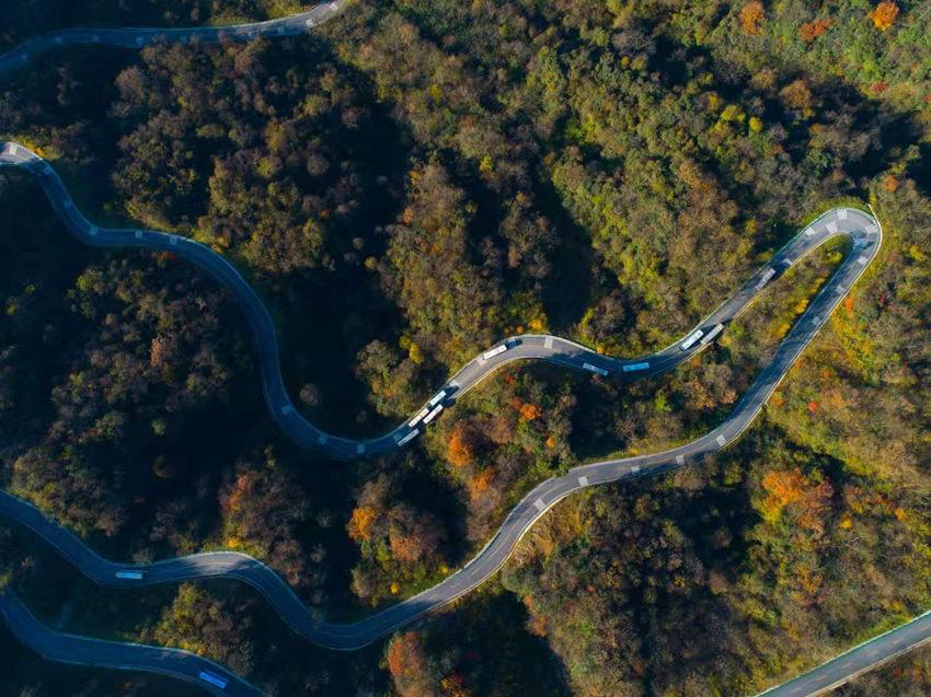 南江县景区旅游公路。南江县委宣传部供图